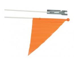 Merkloos Vlag Kind Oranje Deelbaar