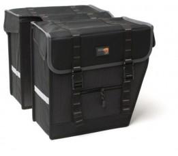 New Looxs Tas  Superior Maxi Dubbel Zwart