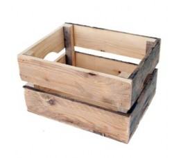 Merkloos Transport Bagage Krat Hout