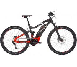 Haibike Sduro Fullnine 10.0, Black/red/silver Matte 5.0, Black/red/silver Matte