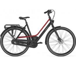 Gazelle Citygo C3, Black/red