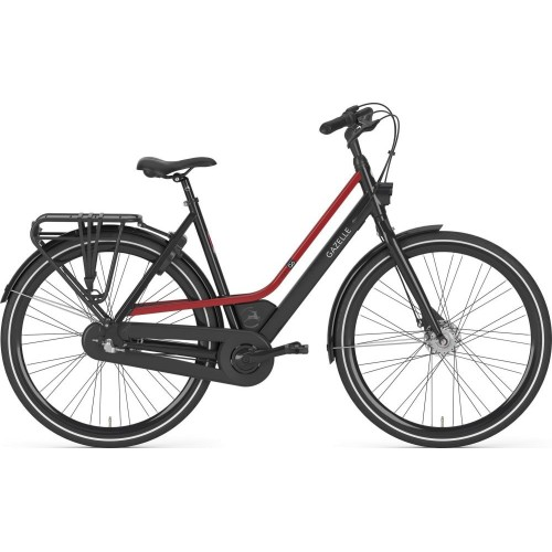 Gazelle Citygo C3, Black/red