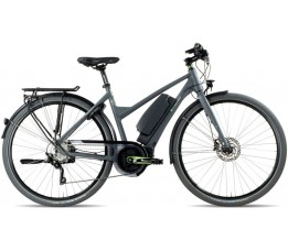 E-bike Manufaktur N9un, Incl. 500wh, Matte Grey, Matt Grey